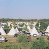 Some of the Over 1000 Tipis at Crow Fair, 2006: 108_4Pan