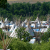 Tipi Poles & Ventilations Flaps At Crow Fair, 2008: 3
