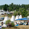 One Family Multi-tipi Camp At Crow Fair, 2008: 40