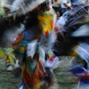 Male Fancy Dancer Blurs Into Color & Motion in Grand Entry: 02_070