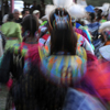 Women Dancers Blend in a Blur of Color & Movement: 02_089